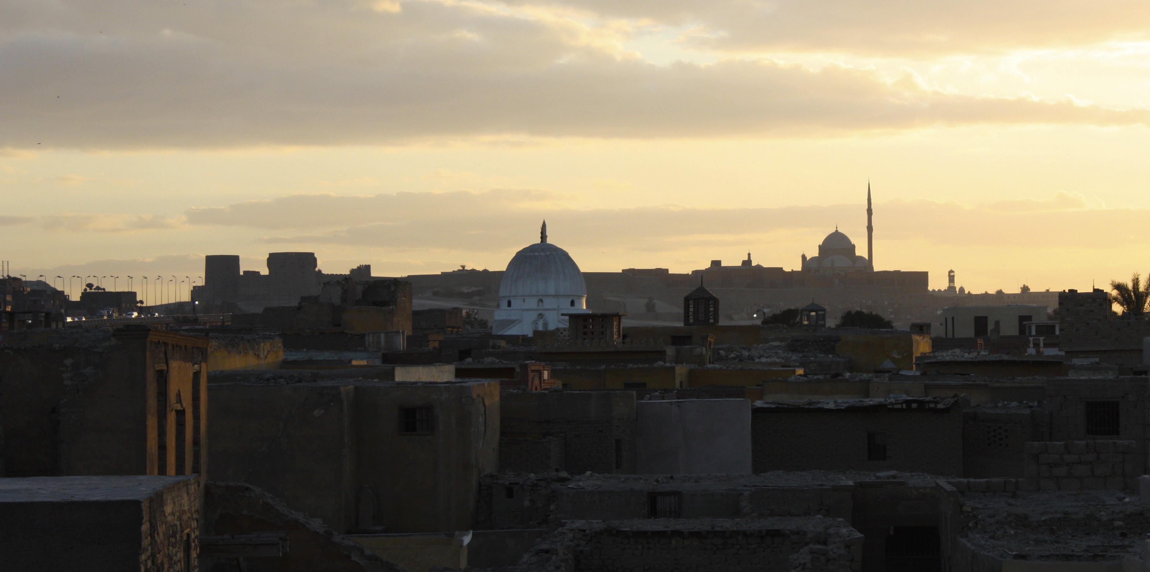 10_Dusk_over_the_Ruins_Cairo,_Egypt_2008